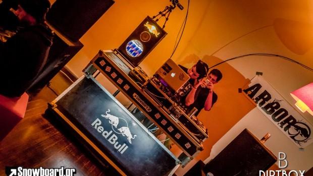 redbull dj booth