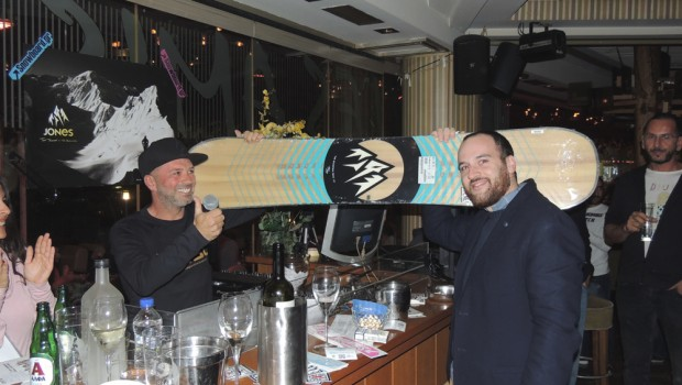 Jones snowboard winner Thessaloniki