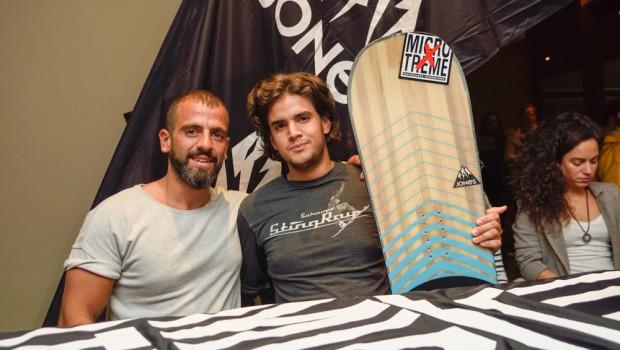 Orestis snowboard.gr  & Themis  jones snowboard winner Athens