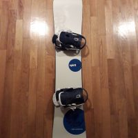 Snowboard Volkl 154 cm & bindings Head
