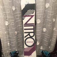 Nitro Snowboard/Burton bindings & boots