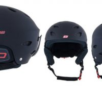 Dirty Dog Orbit Kids Snowboard/ski helmet S Matte Black
