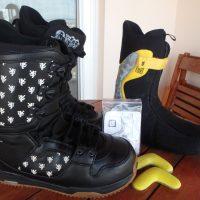 BURTON White Collection Snowboard Boots 43.5 (10.5 US)